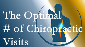 It's up to you and your pain as to how often you see the Millville chiropractor.