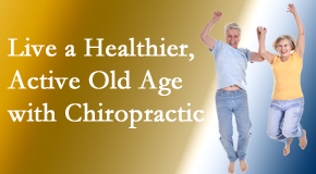 Wilson Family Chiropractic welcomes older patients to incorporate chiropractic into their healthcare plan for pain relief and life's fun.