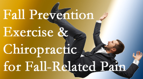 Wilson Family Chiropractic presents new research on fall prevention strategies and protocols for fall-related pain relief.