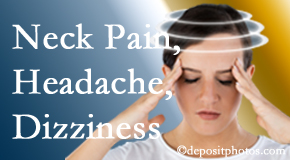 Wilson Family Chiropractic helps relieve neck pain and dizziness and related neck muscle issues.