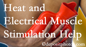Wilson Family Chiropractic uses heat and electrical stimulation for Millville pain relief.
