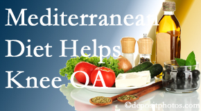 Wilson Family Chiropractic shares recent research about how good a Mediterranean Diet is for knee osteoarthritis as well as quality of life improvement.