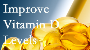 Wilson Family Chiropractic explains that it's beneficial to raise vitamin D levels.