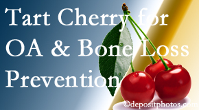 Wilson Family Chiropractic shares that tart cherries may enhance bone health and prevent osteoarthritis.