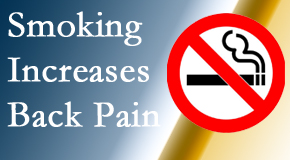 Wilson Family Chiropractic explains that smoking heightens the pain experience especially spine pain and headache.