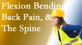 Wilson Family Chiropractic helps workers with their low back pain due to forward bending, lifting and twisting.