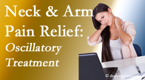 Wilson Family Chiropractic relieves neck pain and related arm pain by using gentle motion-based manipulation.