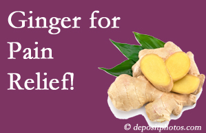 Millville chronic pain and osteoarthritis pain patients will want to look in to ginger for its many varied benefits not least of which is pain reduction.