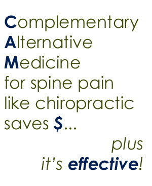 spine pain help from Millville chiropractors
