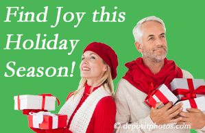 Wilson Family Chiropractic wishes joy for all our Millville back pain patients to improve their back pain and their outlook on life.