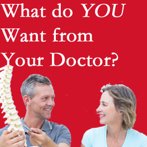 Millville chiropractic at Wilson Family Chiropractic includes examination, diagnosis, treatment, and listening!