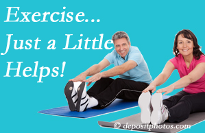 Wilson Family Chiropractic encourages exercise for improved physical health as well as reduced cervical and lumbar pain.