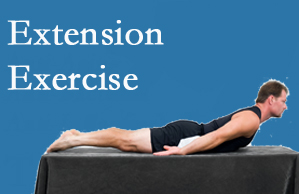 Wilson Family Chiropractic recommends extensor strengthening exercises when back pain patients are ready for them.