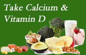 Wilson Family Chiropractic urges osteoporotic and osteoarthritic patients to take calcium and vitamin D to prevent fractures and save money.