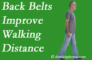 Wilson Family Chiropractic sees benefit in recommending back belts to back pain sufferers.