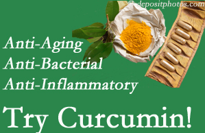 Pain-relieving curcumin may be a good addition to the Millville chiropractic treatment plan.