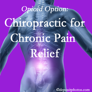 Instead of opioids, Millville chiropractic is beneficial for chronic pain management and relief.