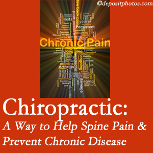 Wilson Family Chiropractic helps relieve musculoskeletal pain which helps prevent chronic disease.